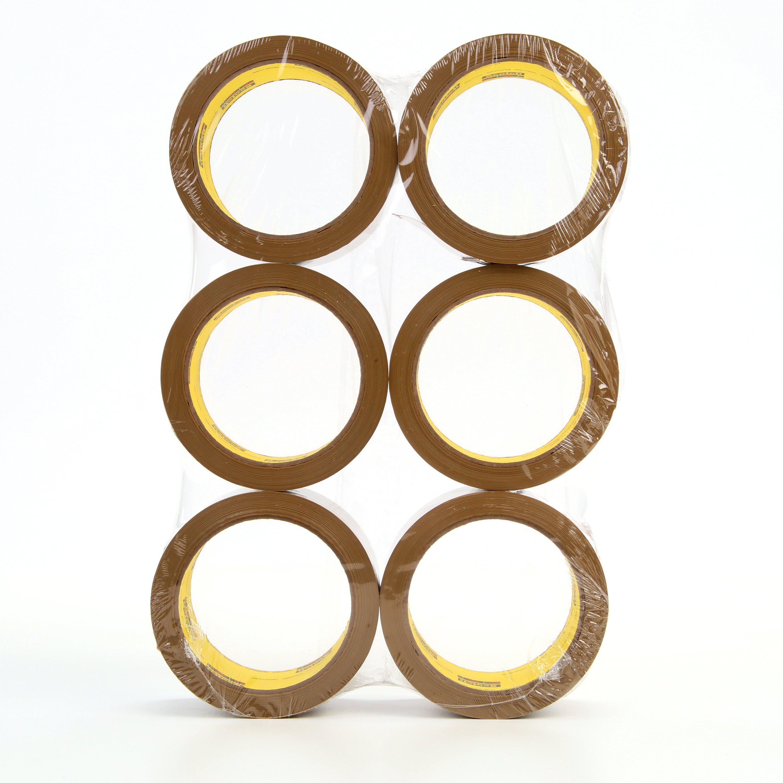 Carton Sealing Tape,Clear,48mm x 50m SCOTCH 373