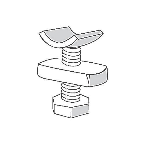 ABB ES142 1/2 1 1/2 Superstrut® Seismic Bracing 1/2 in