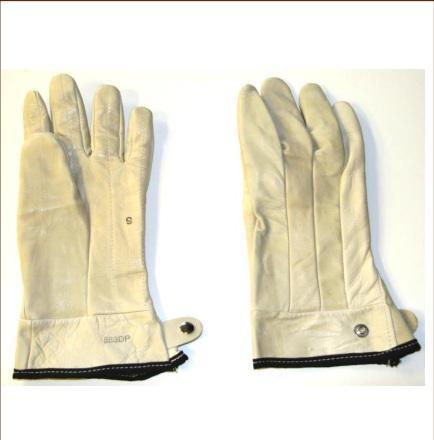 Bob Dale 23-1-883DP-11 Premium Grain Leather Roper Glove with Kevlar Double Palm Tan Size 11