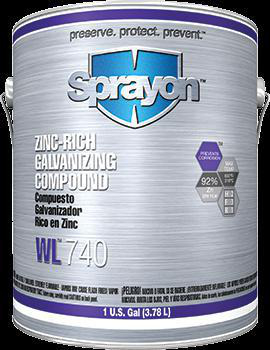 SHERWIN-WILLIAMS SC0740010 Galvanizing Compound 1 gal (US) Gray