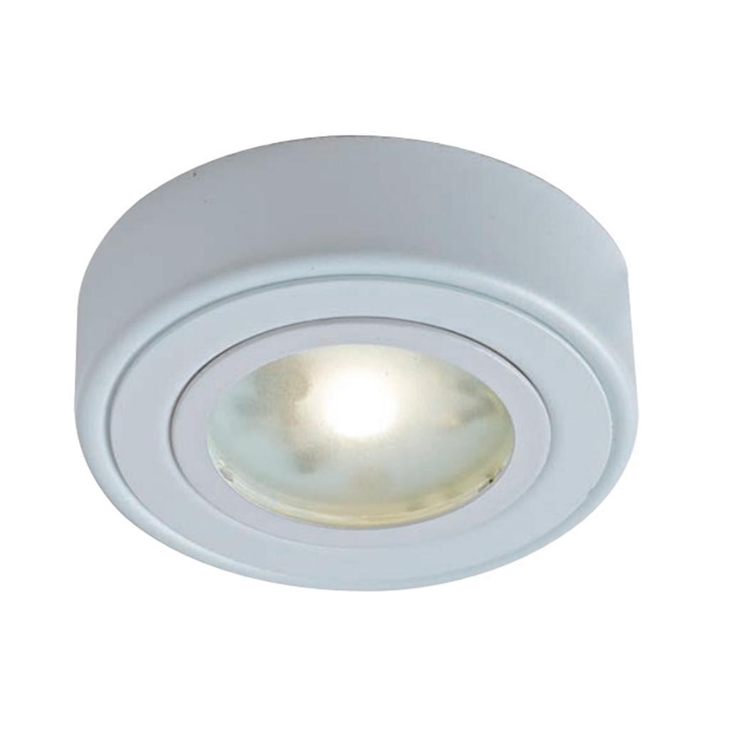 GM Lighting 6 Round LED Surface Mount 2700K 90 CRI Fixture White