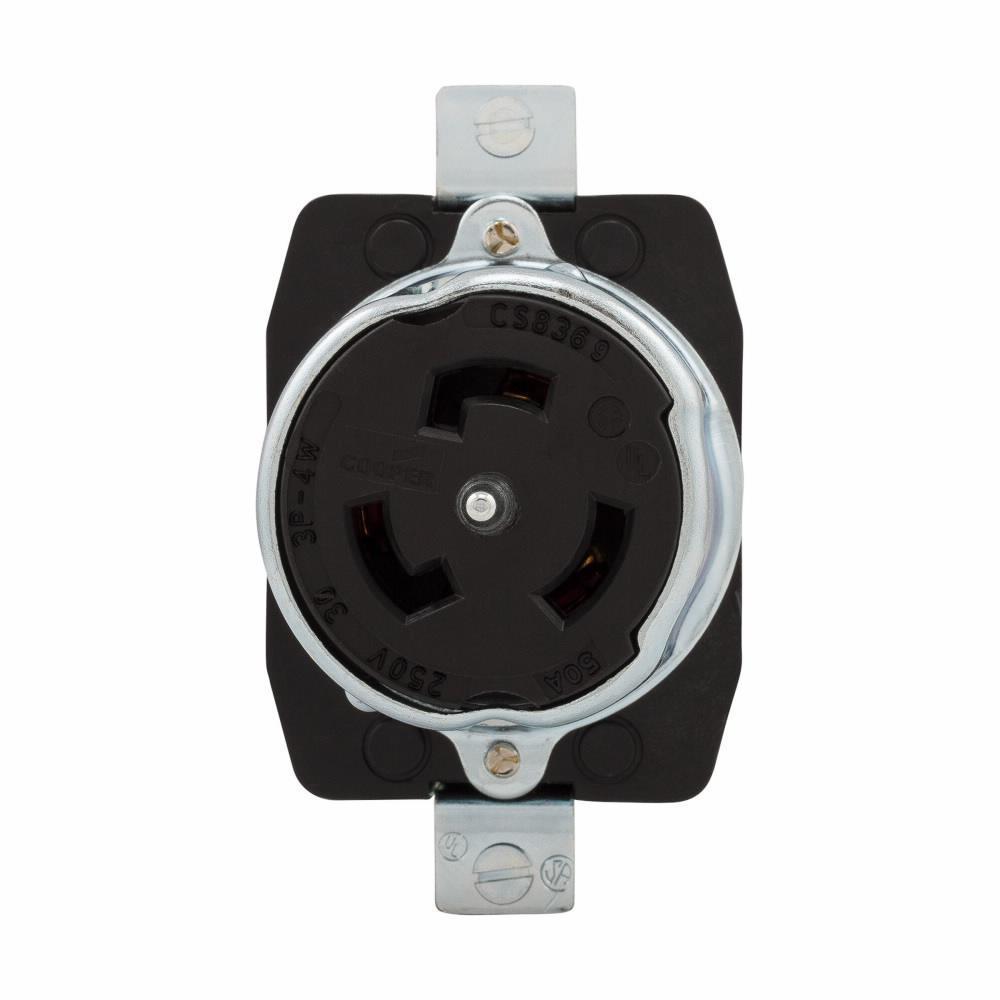 Cooper Industries Cs8369 50a 250v 3 4