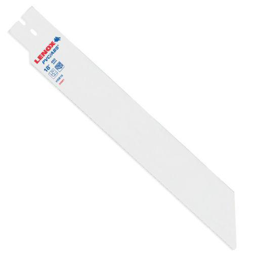 """Lenox 20981-HSB18 18/"""" x 10-TPI Replacement Blade for PVC//ABS Pull Saw"""